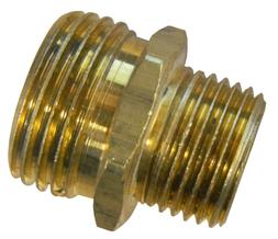 """1/2"""" Male NPT Pipe  to 3/4"""" Male Garden Hose GHT Thread  Ada"""