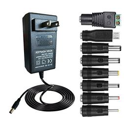 BestPlayer 30W 2V-24V 1.2A Universal AC/DC Adapter Switching