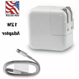 12W USB Power Adapter Wall Charger For Apple iPad 1 2 3 4 Pr