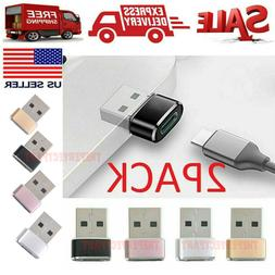 2 PACK USB C 3.1 Type C Female to USB 3.0 Type A Male Port C