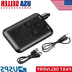 2in1 Bluetooth Transmitter & Receiver Wireless A2DP for TV S