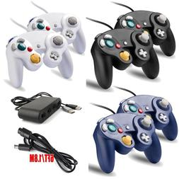 2Pack Gamecube Controller/Adapter/Cable for Nintendo Gamecub