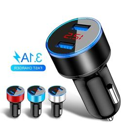 3.1A Dual USB <font><b>Car</b></font> <font><b>Charger</b></