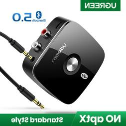 UGREEN V5.0 Wireless Bluetooth Receiver Audio Adapter with 3
