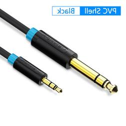 VENTION 3.5mm to 6.35mm Adapter Audio Cable for Mixer Amplif