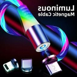 3 in 1 magnetic usb lightning fast