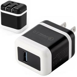 30W Fast Quick Charge QC 3.0 USB Wall Charger Adapter US Plu