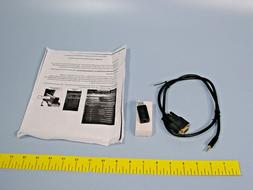 C2G 4039964 1.5ft USB to DB9 Serial RS232 Adapter Cable With