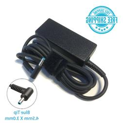 Genuine HP 45W AC Adapter Blue Tip 45w Laptop Charger for 74
