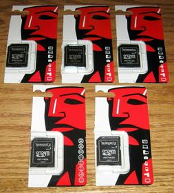 5 Kingston Micro SD to SD; SDHC; SDXC Memory Card Adapters N