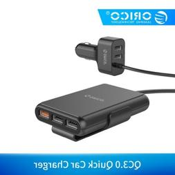 ORICO 5 Port QC3.0 Quick Charge 3.0 USB Car Charger SUV Vehi