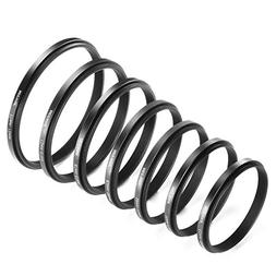 Neewer 7 Pieces Step-Down Adapter Ring Set Made of Premium A