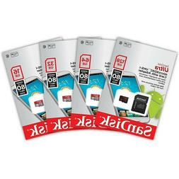 Sandisk 8GB 16GB 32GB 64GB Micro SD HC Class 10 Flash SDHC M