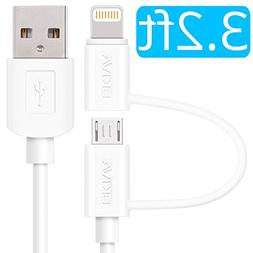 Apple MFi Certified Lightning Cable - Skiva USBLink Duo 2-in