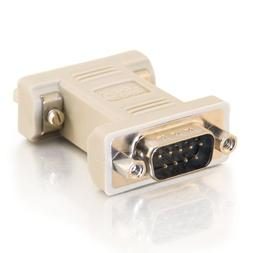 C2G 08075 DB9 Male to DB9 Female Serial RS232 Null Modem Ada