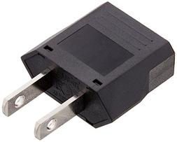 Ckitze Flat European to American Outlet Plug Adapter