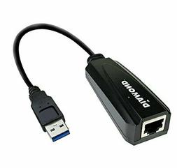 Diamond UE3000, USB to RJ45, USB 3.0 to 10/100/1000 Gigabit