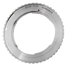 Fotodiox Lens Mount Adapter - Contax/Yashica  SLR Lens to Ca