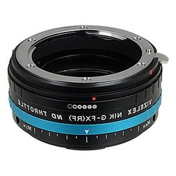 Fotodiox Pro ND Throttle Compatible with Nikon F Lenses for