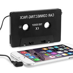 Insten Car Cassette for iPod/Zune MP3/CD Tape Deck Adapter