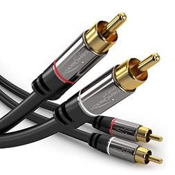 KabelDirekt RCA Stereo Cable/Cord  supports