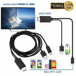 MHL Micro USB to HDMI 1080P HDTV Cable Adapter for Samsung G
