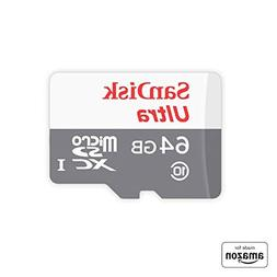 """Made for Amazon"" SanDisk 64 GB micro SD Memory Card for Fir"