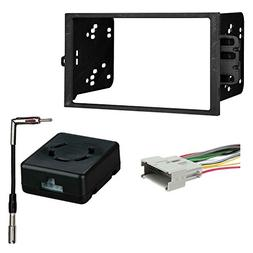 Metra 95-2001 2-DIN Dash Kit + Chime Retention Interface for