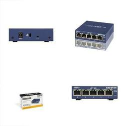 NETGEAR GS105 5-Port 10/100/1000 Gigabit Ethernet Switch