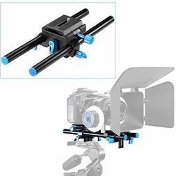 Neewer Universal Aluminum 15mm Rail Rod Support System High
