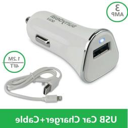 Quick Car Charger Adapter LED Display Fast Charging for Appl