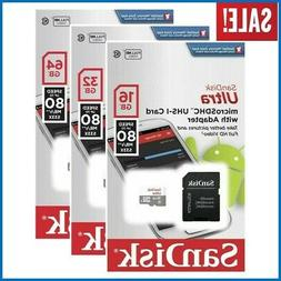 Sandisk 16GB 32GB 64GB 128GB Micro SD Class 10 TF Flash SDHC