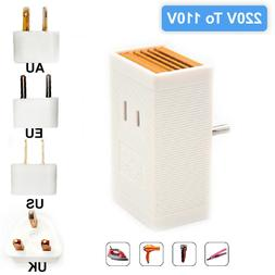 Seven Star Travel Voltage Converter & Plug Adaptor Kit SS204