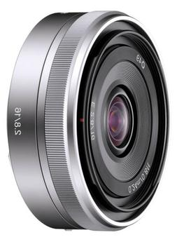 Sony SEL16F28 16mm f/2.8 Wide-Angle Lens for NEX Series Came