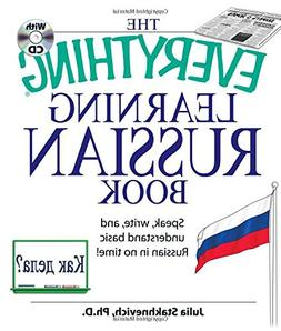 The Everything Learning Russian Book with CD: Speak, write,