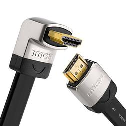 UGREEN HDMI Right Angle Cable 90 Degree Elbow Flat HDMI Cord