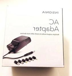 Insignia AC Adapter 3V-12V DC at Up to 600 W/ 7 Multiple Out
