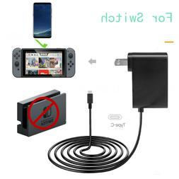 AC Adapter Power Supply Wall Charger For Nintendo Switch Doc