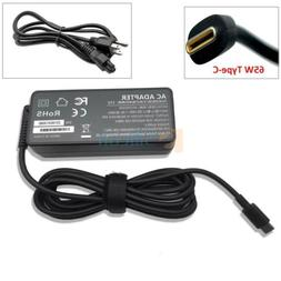 AC Power Adapter USB-C Charger Cord For Dell Chromebook 3100