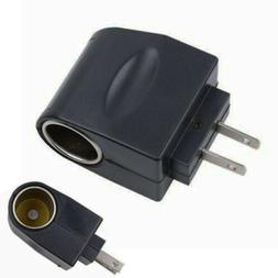 AC US Plug Wall Power to DC Car Charger Cigarette Converter
