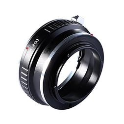 Adapter To Convert Canon EOS, EF, EF-S Lens To E-mount/NEX F
