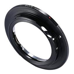 Adapter To Convert Nikon F-Mount Lens to Canon EOS, EF, EF-S