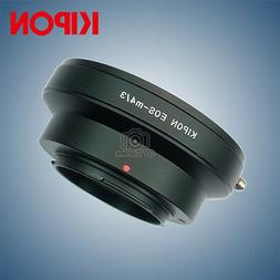 Kipon Adapter for Canon EOS EF Mount Lens to Micro Four Thir