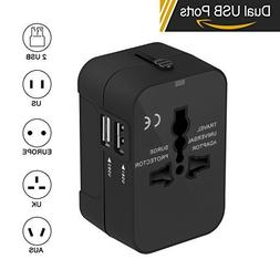 Travel Adapter, Xcords Worldwide All in One Universal Travel