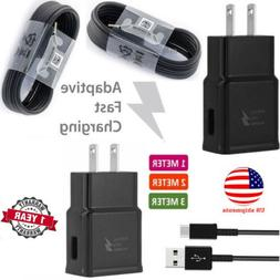 Adaptive Fast Wall Charger Adapter+Micro USB Cable for Samsu