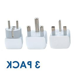 Ceptics African Travel Adapter Set 2 in 1 USA to Africa, S.