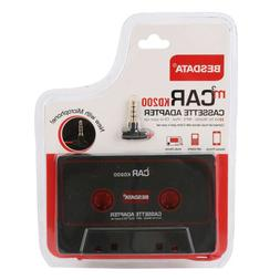 Audio AUX Car Cassette to MP3 CD MD iPod Phone Tape Adapter