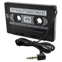 Audio Cassette Tape Adapter Aux Cable Cord 3.5mm Jack fr to