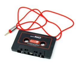 Audio Cassette Tape Adapter Aux Cable Cord 3.5mm Jack for to