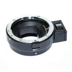 Auto Focus Lens Mount Adapter for Canon EF-S to Sony E Mount
